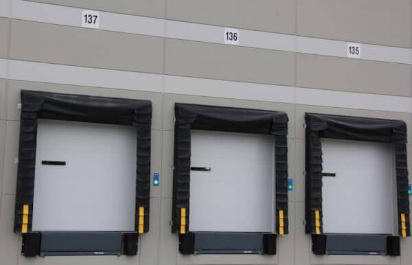 Warehouse dock door signs