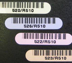 Kapton durable PCB labels