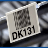 hanging warehouse location barcode sign