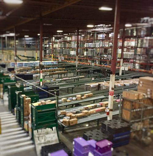 Albertsons warehouse interior