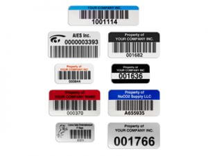 asset tags and labels