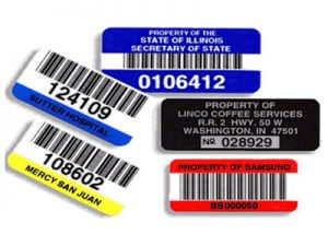 asset labels and tags