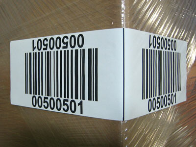 wrap-around corner wrap warehouse LPN labels