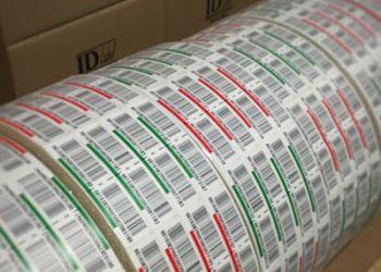 preprinted warehouse LPN pallet labels