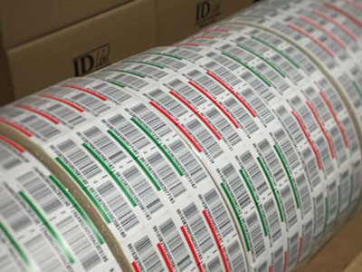 preprinted warehouse LPN pallet labels