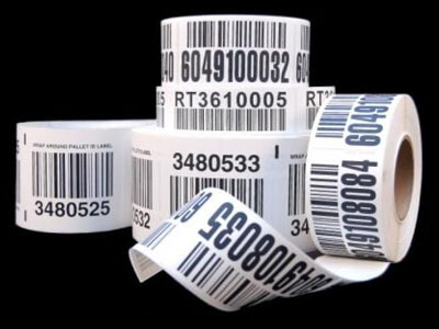 warehouse pallet LPN barcode labels
