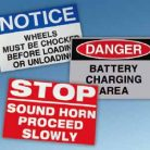 Warehouse Signs Aisle Bulk Zone Safety Amp Dock Id
