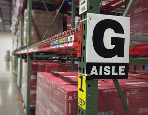 Warehouse Signs | Aisle, Bulk, Zone, Safety & Dock | ID