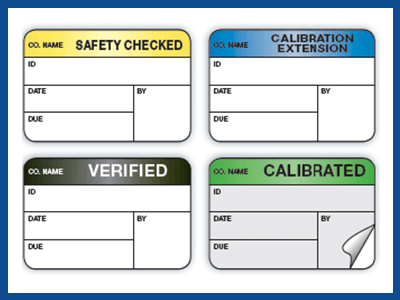 calibration labels