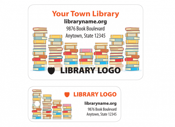 library patron card sample