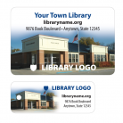 library patron card sample 2