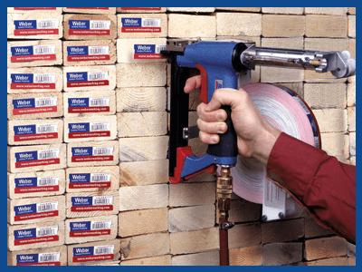 Lumber Barcode Tags