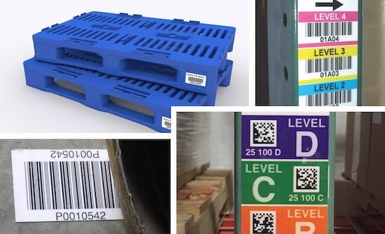 BullsEye™ ultra-durable warehouse labels