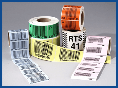 pallet LPN warehouse barcode label samples
