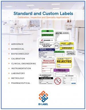 calibration label catalog