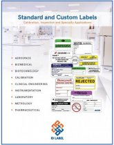 calibration label catalog