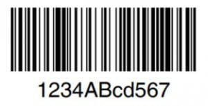 code 128 auto optimized barcode image