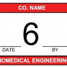 biomedical engineering calibration tracking label