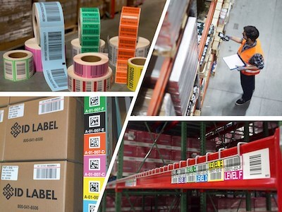 types of warehouse labels