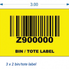 3×2 yellow tote label 400×338