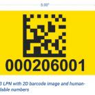 5×3 yellow 2D LPN