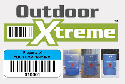 Outdoor Xtreme asset labels 3 images