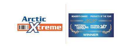 Arctic Xtreme logo and award